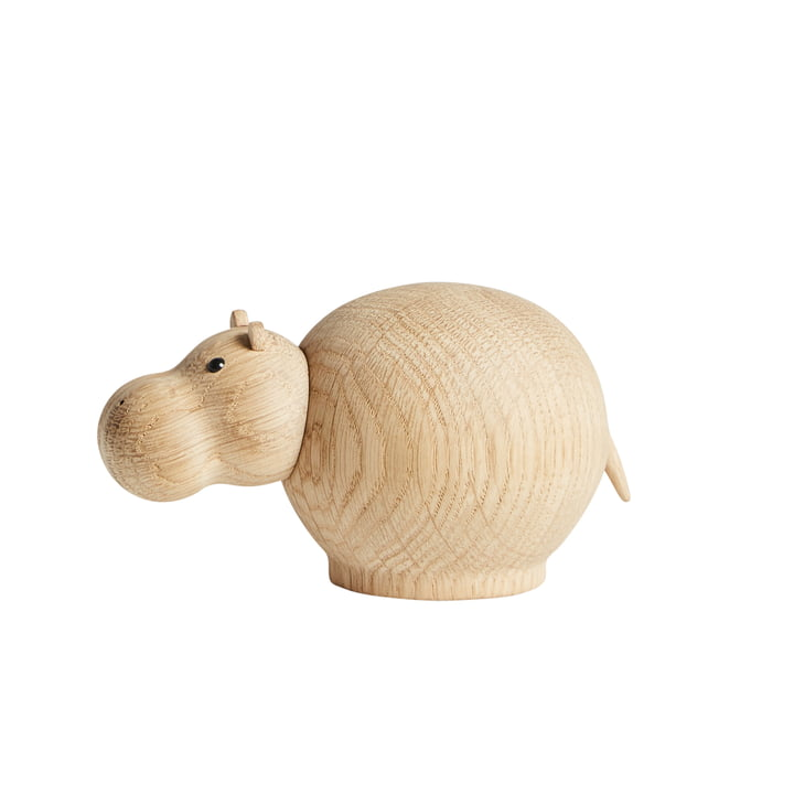 Woud - Hibo Nilpferd, Eiche matt lackiert / small