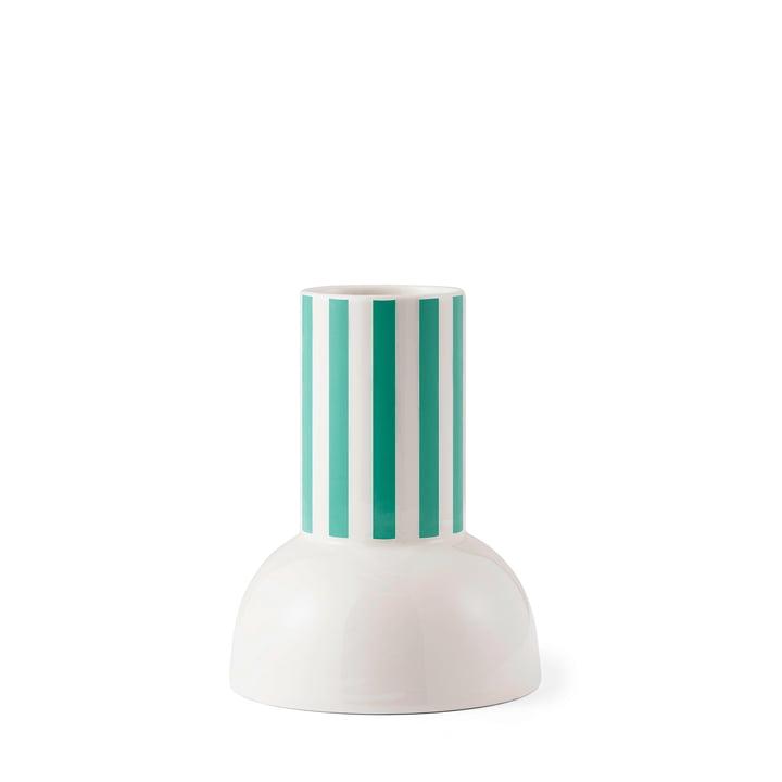 Tivoli - Funfair Vase, H 18 x Ø 14 cm, jadegrün