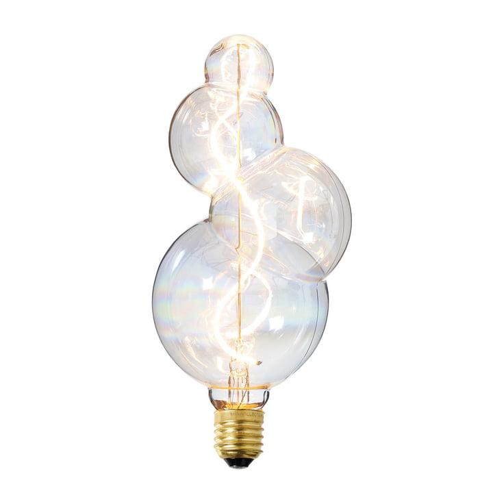 Das NUD Collection - LED-Leuchtmittel Bubble Ø 100 mm, E27 / 3 W, klar