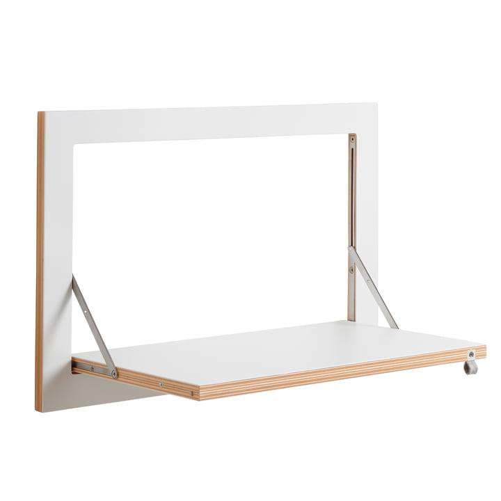 Ambivalenz - Fläpps Regal, 60 x 40 cm, 1 Regalboden, weiß