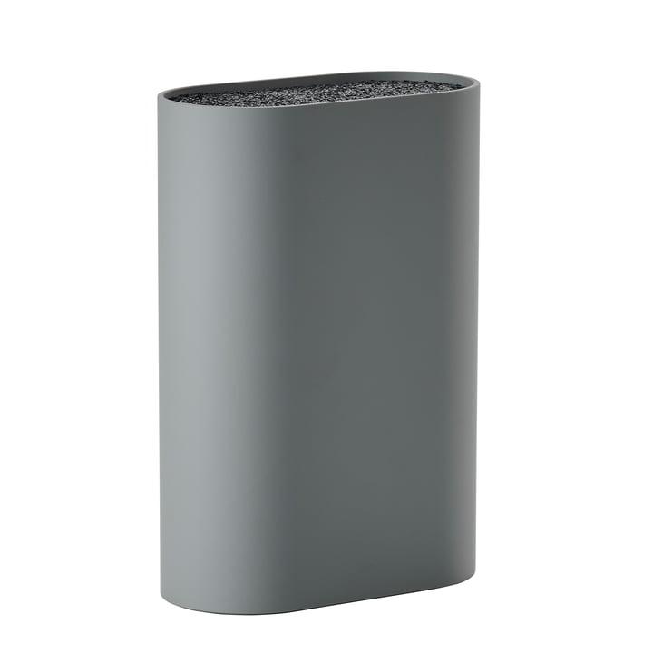Der Zone Denmark - Messerblock, L 17 x W 9 cm, cool grey