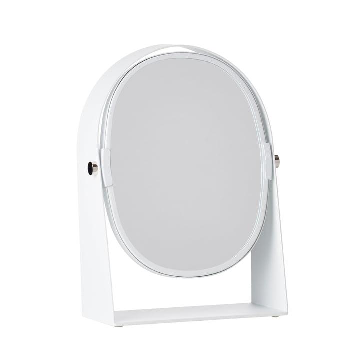 Der Zone Denmark - Kosmetikspiegel mit Vergrößerungseffekt, oval / weiß