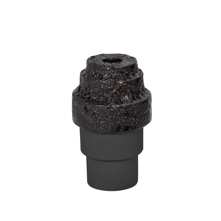 Pulpo - Maket Vase small, schwarz / graphit