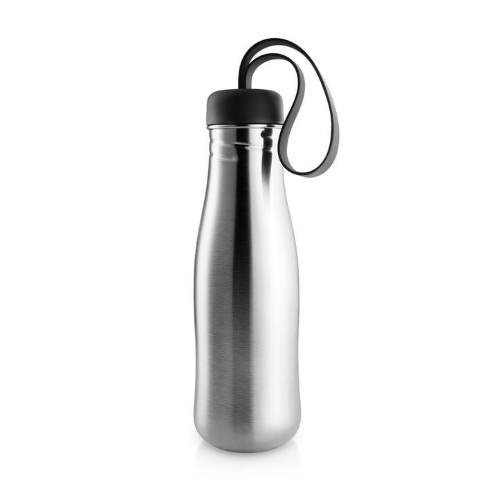 Active Trinkflasche 0,7 l von Eva Solo in Edelstahl / schwarz