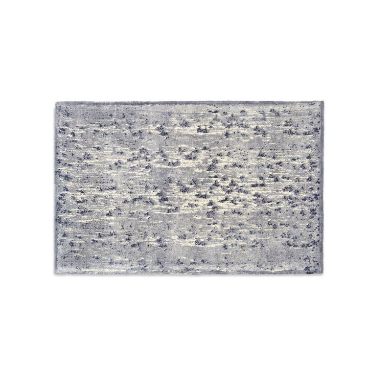Mater - Info Teppich IR02 A New Dam, 240 x 170 cm, dunkelgrau / silber / taupe / ecru