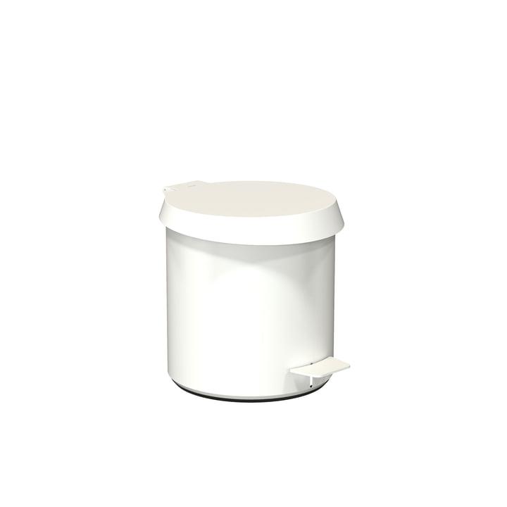 Pedaleimer 250 in weiß von Frost