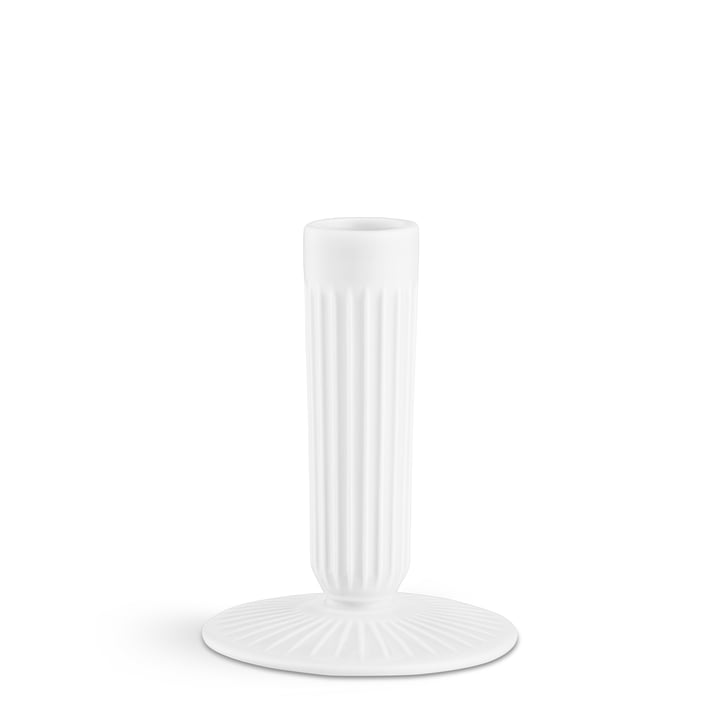 Der Kähler Design - Hammershøi Kerzenhalter H 12 cm, weiß