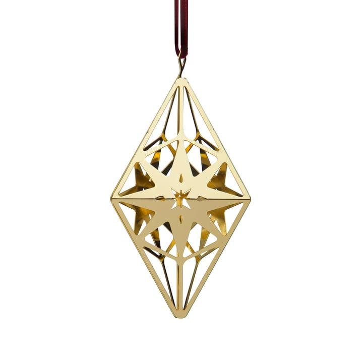 RhombushängerH 11,3 cm, gold von Rosendahl | Connox