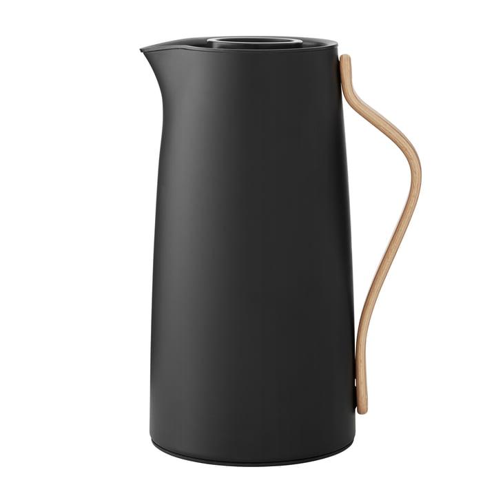 Emma Isolierkanne Kaffee 1,2 l von Stelton in matt schwarz