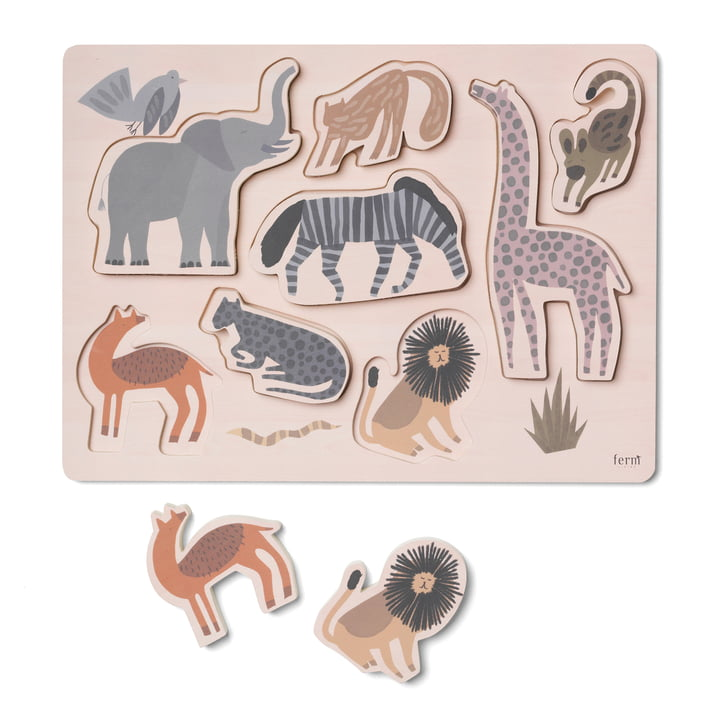 Safari Puzzle von ferm Living