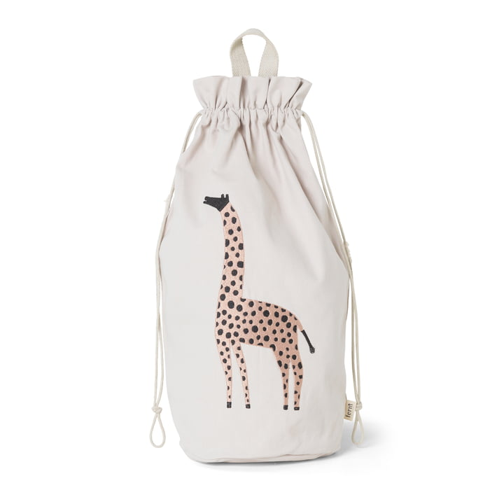 Safari Storage Bag Giraffe von ferm Living