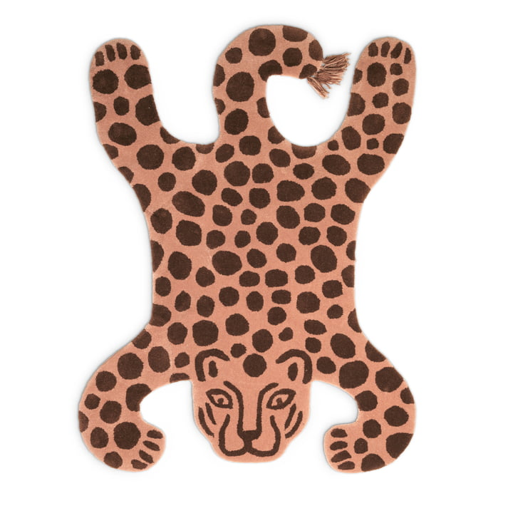 Safari Teppich Leopard von ferm Living