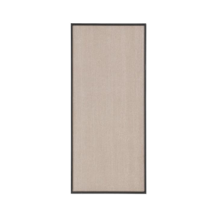 Scenery Pinnwand 45 x 100 cm von ferm Living in schwarz / beige
