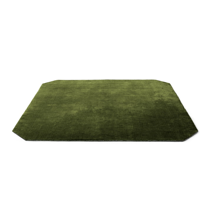 The Moor Teppich AP6 von &tradition - 240 x 240 cm, green pine