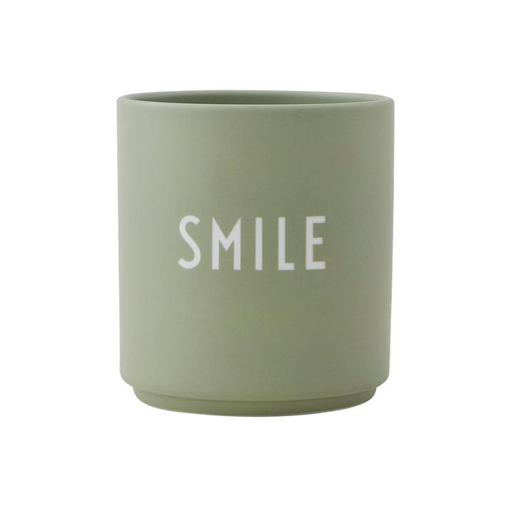 AJ Favourite Porzellan Becher Smile von Design Letters
