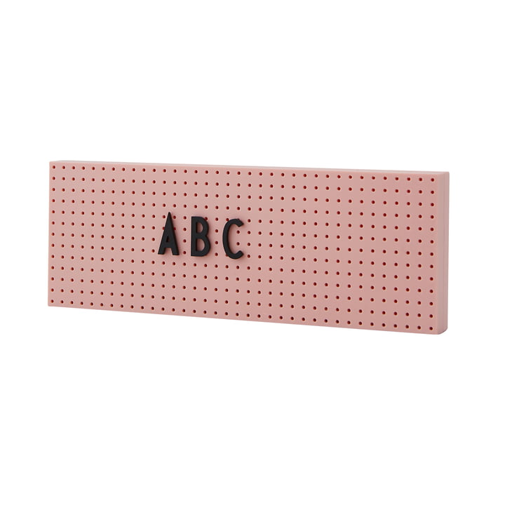 The Sign Nachrichtentafel small von Design Letters in pink