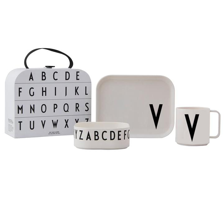 Kindergeschirr-Set inkl. Koffer V von Design Letters