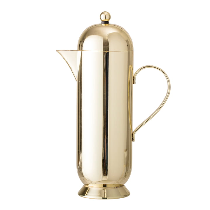 Kaffeekanne von Bloomingville - Ø 10 x H 29 cm, gold