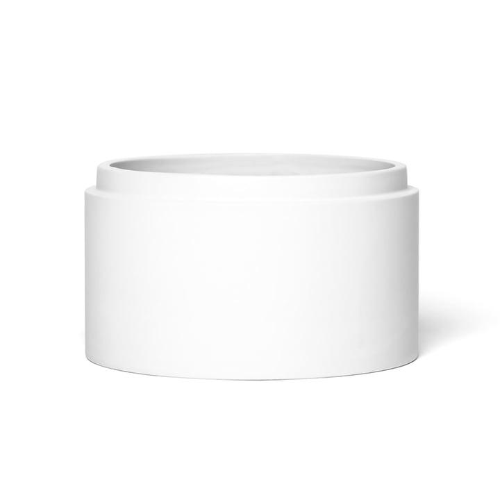 Scutra Schale, Ø 18 x H 9 cm in weiß matt von Conmoto