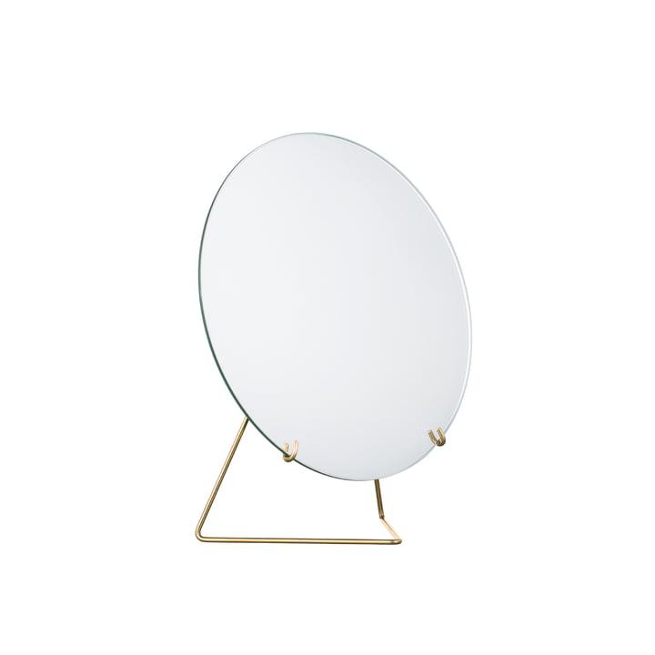 Tischspiegel Ø 20 cm von Moebe in Messing