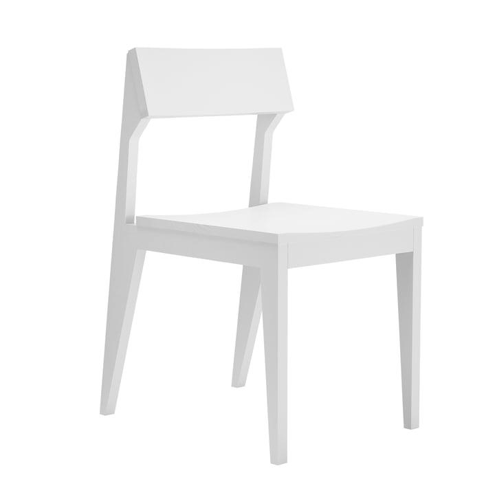 Schulz Stuhl von Objekte unserer Tage - weiß