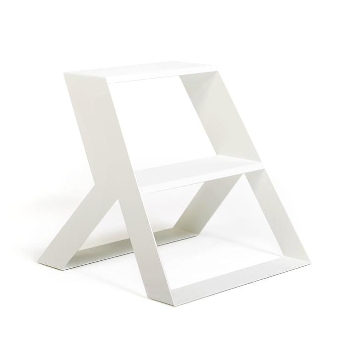 Split Step Trittleiter von Frederik Roijé in weiß