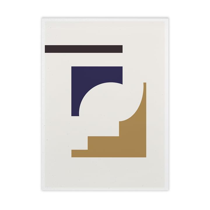 Shapes of Colour 02 von Paper Collective, 50 x 70 cm