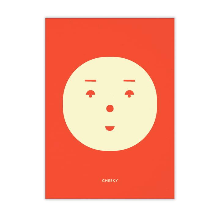 Cheeky Feeling von Paper Collective, 50 x 70 cm