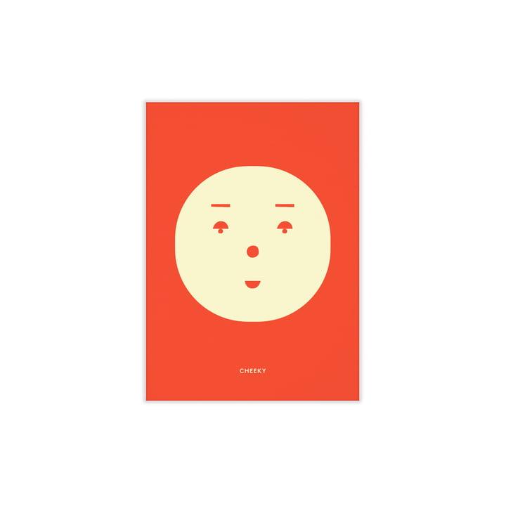 Cheeky Feeling von Paper Collective, 30 x 40 cm