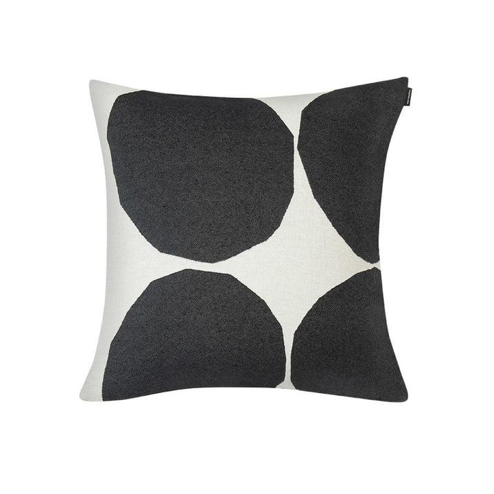 Kivet Kissenbezug 50 x 50 cm von Marimekko in weiß / schwarz