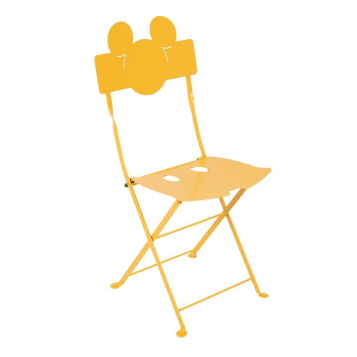 Mickey Mouse Bistro Stuhl von Fermob in honig