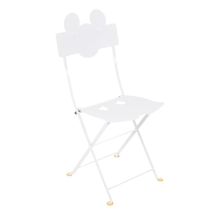 Mickey Mouse Bistro Stuhl von Fermob in baumwollweiß