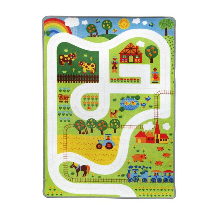 Spielteppich Bauernhof 90 x 130 cm von byGraziela