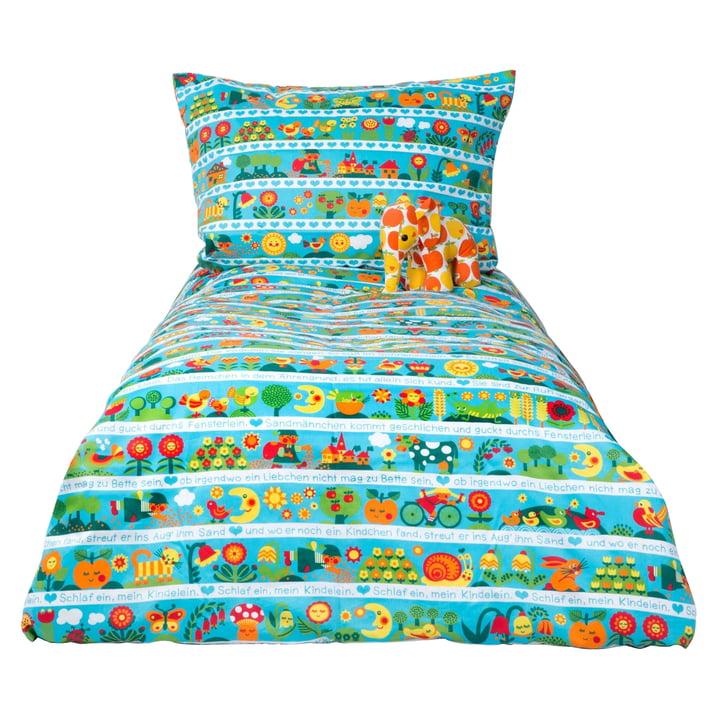 Kinderbettwäsche Schlaflied 135 x 200 cm von byGraziela