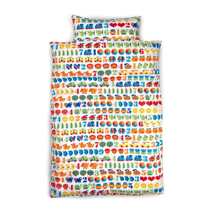 Kinderbettwäsche 1,2,3 135 x 200 cm von byGraziela