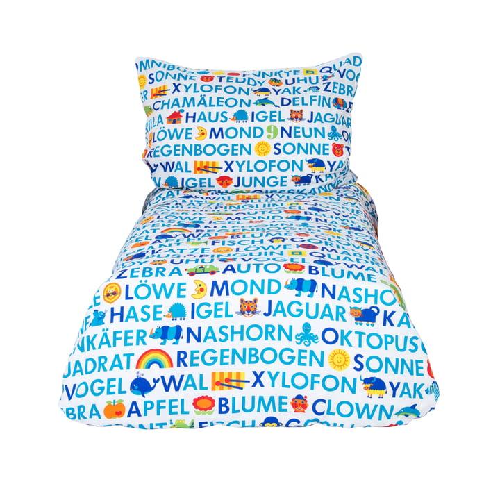 Kinderbettwäsche ABC 135 x 100 cm von byGraziela