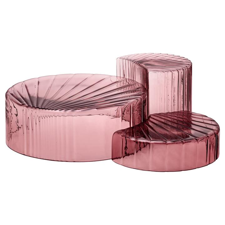 Concha Schalen in rosa (3er-Set) von AYTM