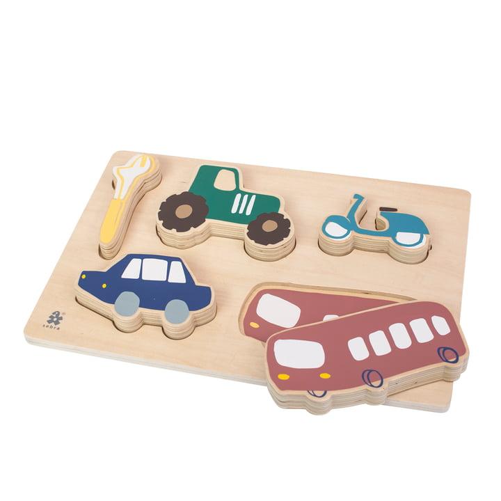 Holz Puzzle Little Driver von Sebra