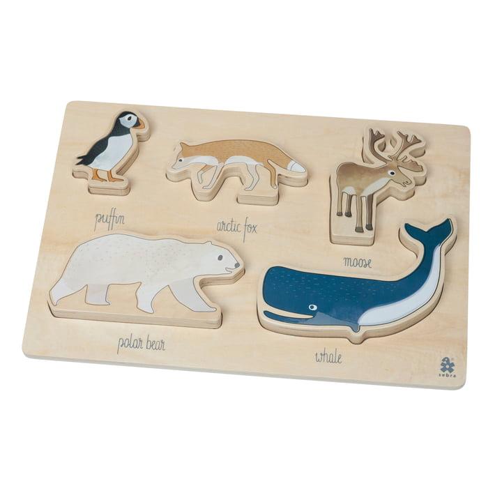 Holz Puzzle Arctic Animals von Sebra