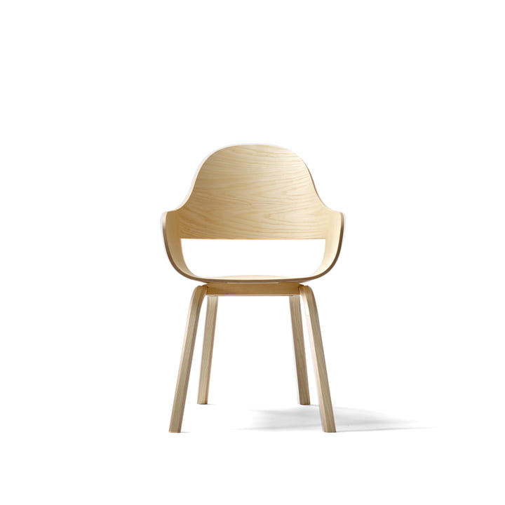 Showtime Nude Chair von BD Barcelona in Esche