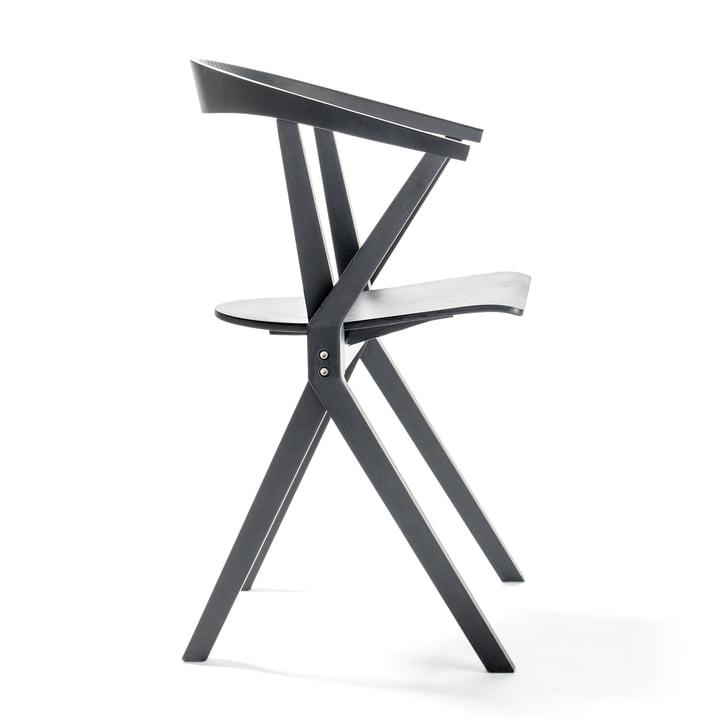 Chair B von BD Barcelona in schwarz
