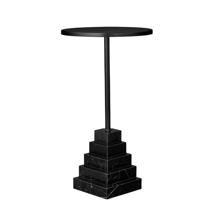 Solum Beistelltisch low, Ø 32 x H 55 cm in schwarz von AYTM