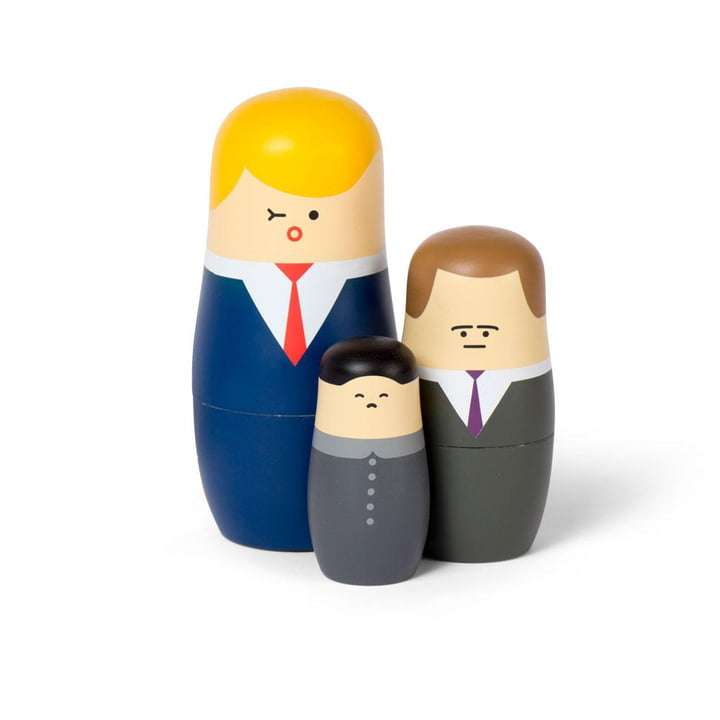 Expressions Matryoshka Puppen Big Bosses von Spring Copenhagen