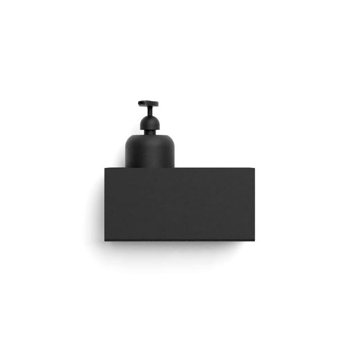 Nichba Design - Wandablage, L 20 cm / schwarz