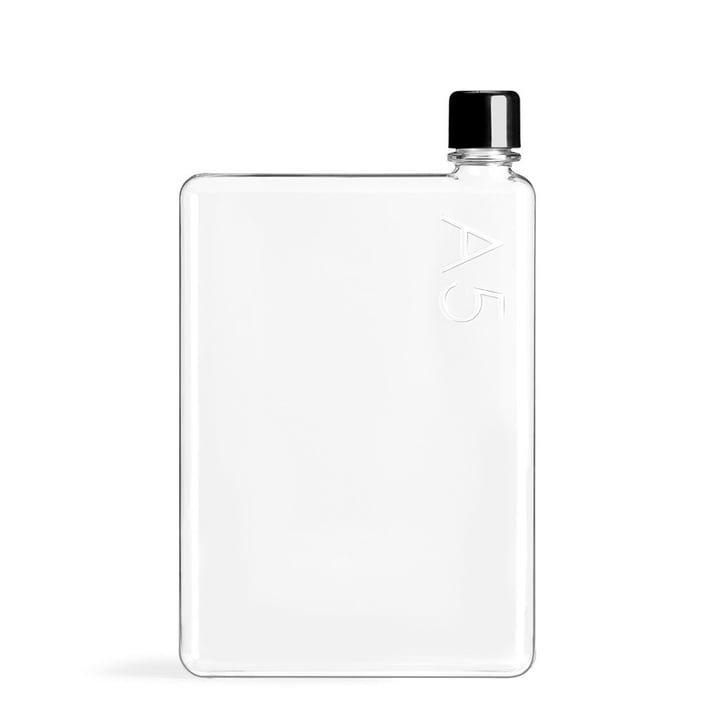 Trinkflasche A5, 750 ml von memobottle