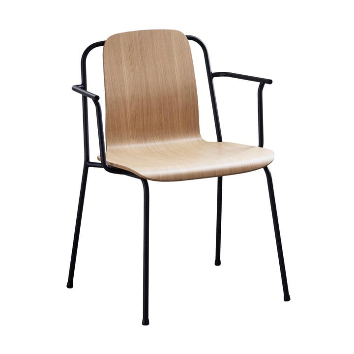 Studio Armchair von Normann Copenhagen in schwarz / Eiche