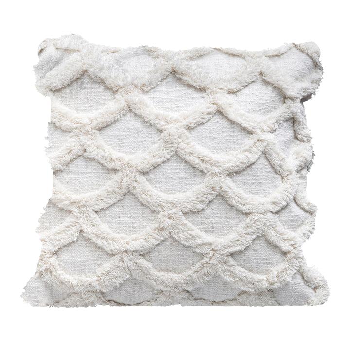Gathering Kissen von Bloomingville , L 45 x W 45 cm in weiß