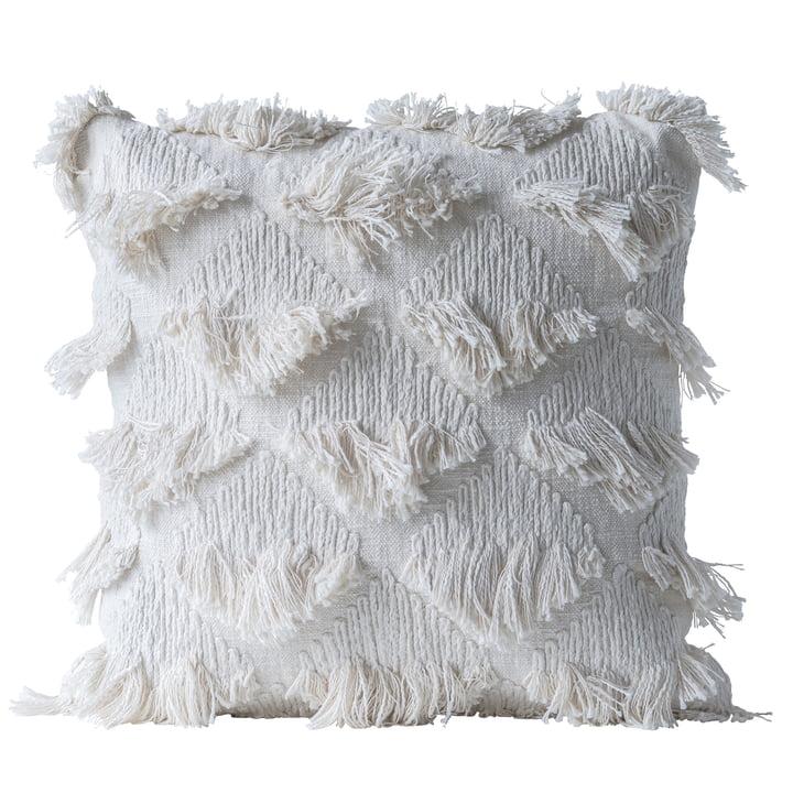 Collected Kissen von Bloomingville, L 55 x W 55 cm in weiß