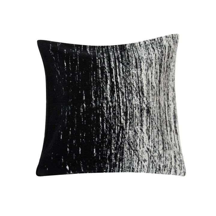 Kuiskaus Kissenbezug, 50 x 50 cm in schwarz / weiß von Marimekko