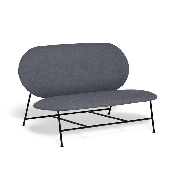 Oblong Sofa von Northern in schwarz / grau (Brusvik 05)